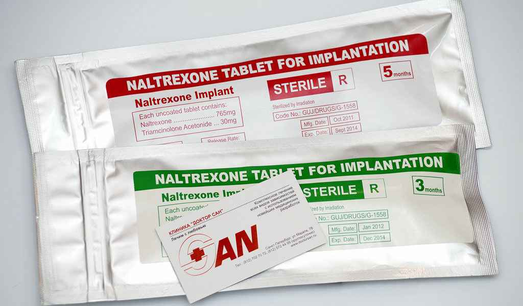 Имплантация Налтрексона в Боровково цена